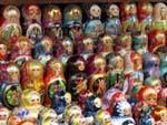 Matryoshka dolls Galore