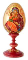 Our Lady of Vladimir Easter Egg