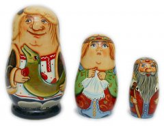 'By the Pike's Wish' Russian Matryoshka