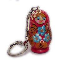 Babushka Doll Keyring