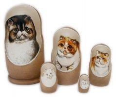 Kitties Nesting Dolls