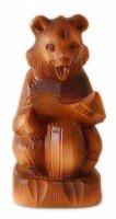 Hand carved Bear - Bogorodskaya carving