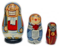 """The Nutcracker"" Matryoshka 3 pcs"