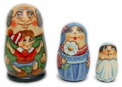 Buratino Russian Matryoshka